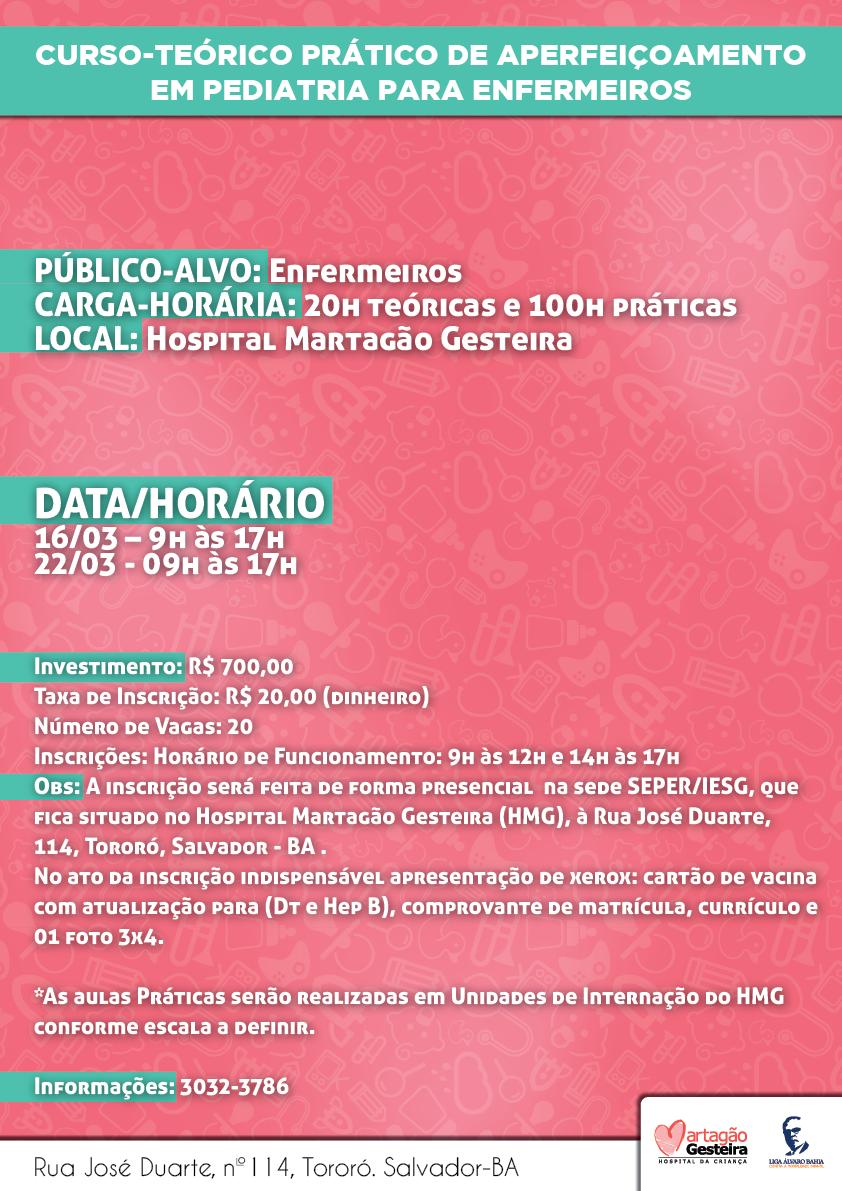 CURSO-TEoRICO PRaTICO DE APERFEIcOAMENTO EM PEDIATRIA PARA ENFERMEIROS-01