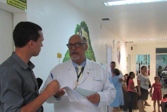 Referência em Ortopedia Pediátrica, Martagão Gesteira recebe paciente com síndrome rara