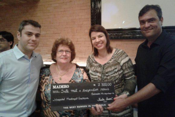 Madero Steak House reverte toda renda da pré inauguração para o Martagão.